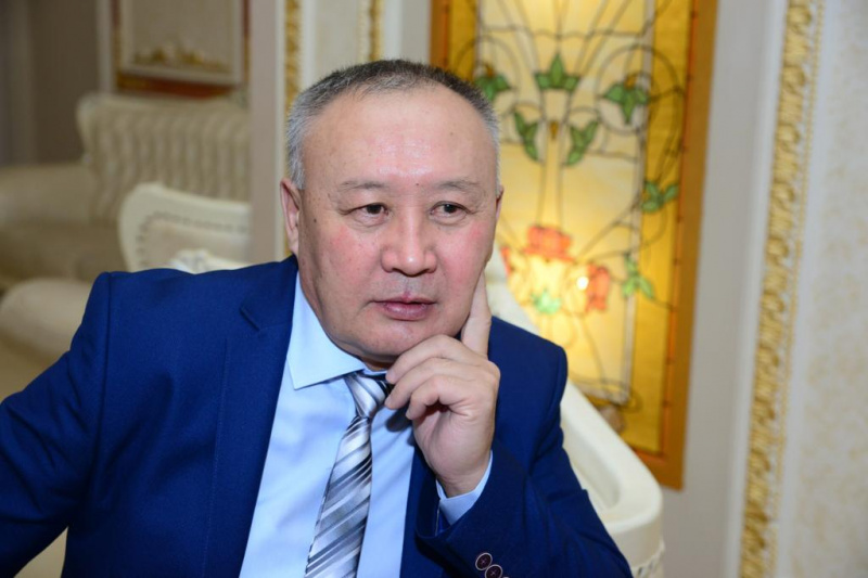 A front office for Almaty region